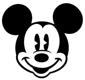 296x280 Mickey Mouse Face Clipart