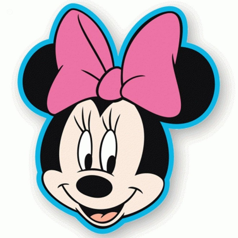 830x830 Minnie Mouse Head