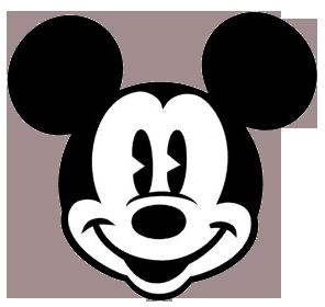 296x280 Mickey Mouse Face Clip Art Clipart Panda
