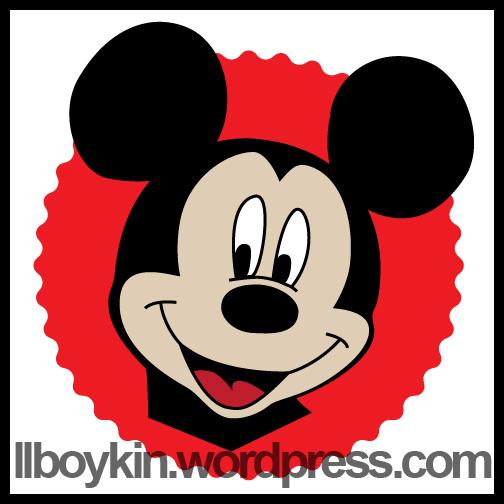 504x504 Mickey Mouse Face Vector