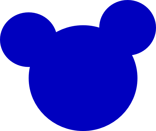 600x507 Mickey Mouse Head Clip Art Png