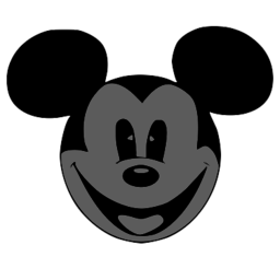 256x256 Mouse Face Svg Picture