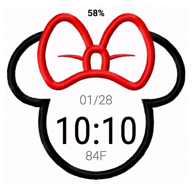 640x640 Mickey And Minnie Mouse For Moto 360 Facerepo