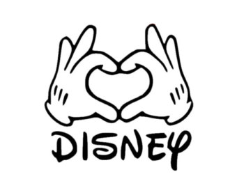 340x270 mickey mouse hand vector