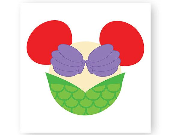 570x452 Disney, Princess, Icon Minnie Mouse Head, Icon Mickey Mouse Head