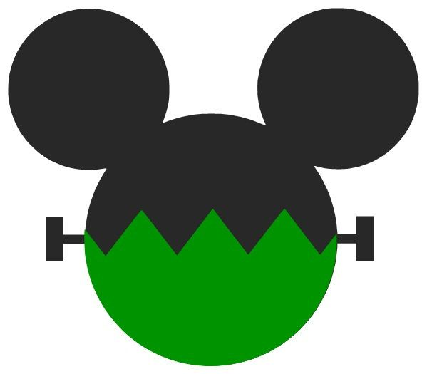 Mickey Mouse Head Shape