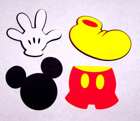 480x416 Mickey Clubhouse Number Clipart