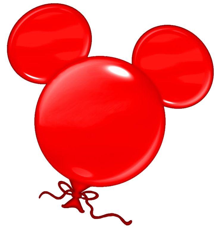 736x766 Mickey Mouse Balloon Clipart