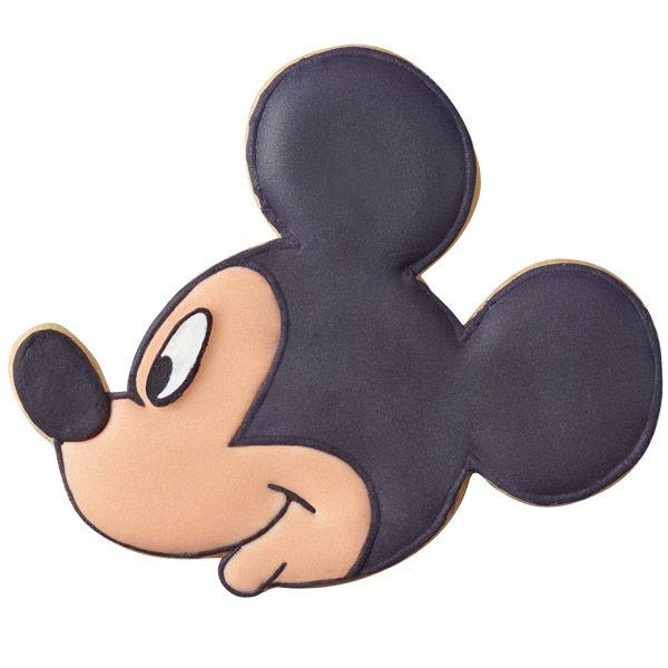 600x600 Mickey Mouse Profile Cookies Wilton