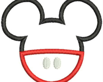 340x270 Mickey Mouse Shape Images