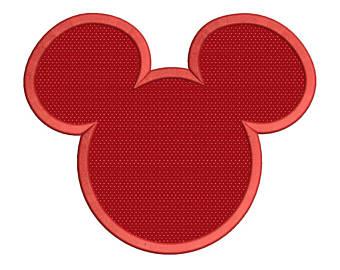 340x270 Mickey Applique Etsy