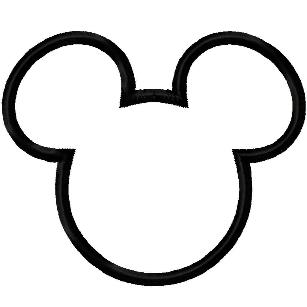 1024x1024 Mickey Mouse Head Clipart Free Images