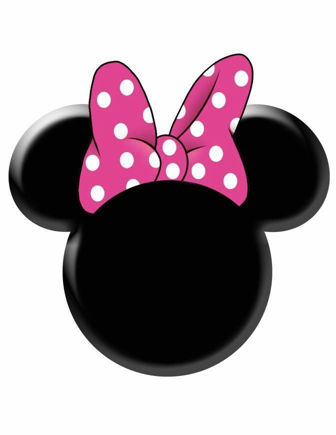 672x870 Minnie Mouse Head Vector Group