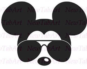 340x270 Mickey Mouse Svg Sunglasses Disney Mickey Mouse Sunglasses Svg