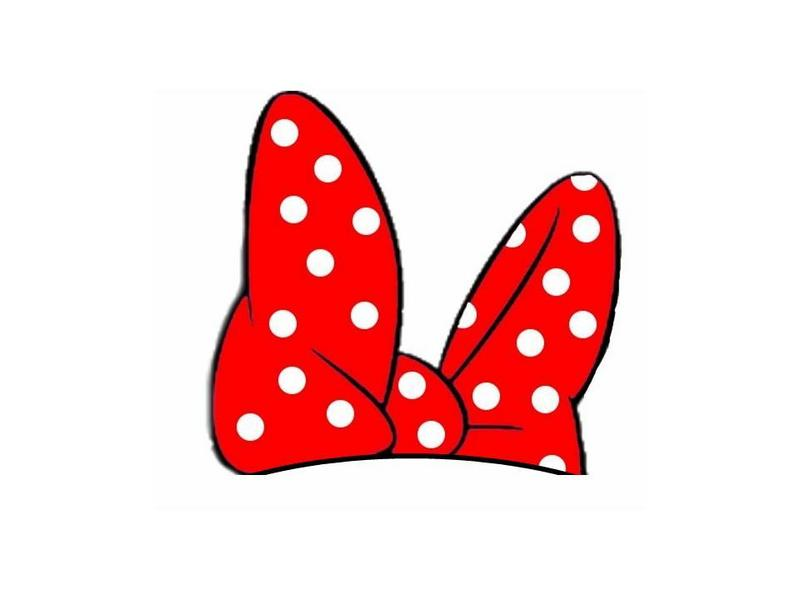 800x600 Minnie Mouse Bow Template Free Download Clip Art