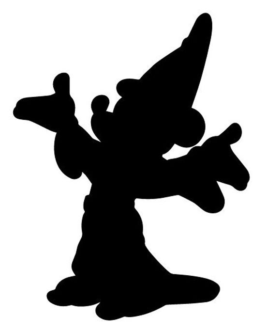 550x685 Best Mickey Silhouette Ideas Mickey Mouse