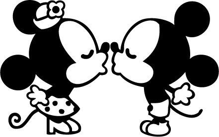 441x276 Kissing Clipart Mickey Mouse