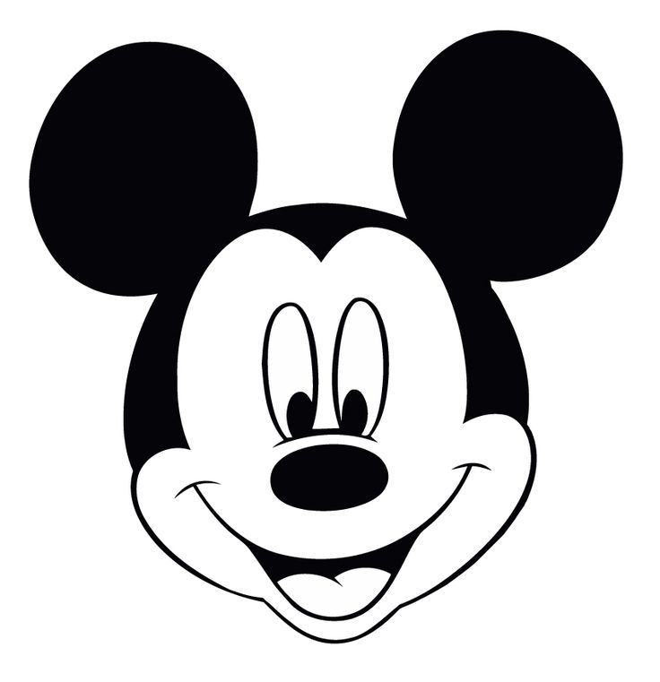 736x761 Mickey Mouse Black And White 0 Images About Felt Mickey Mouse