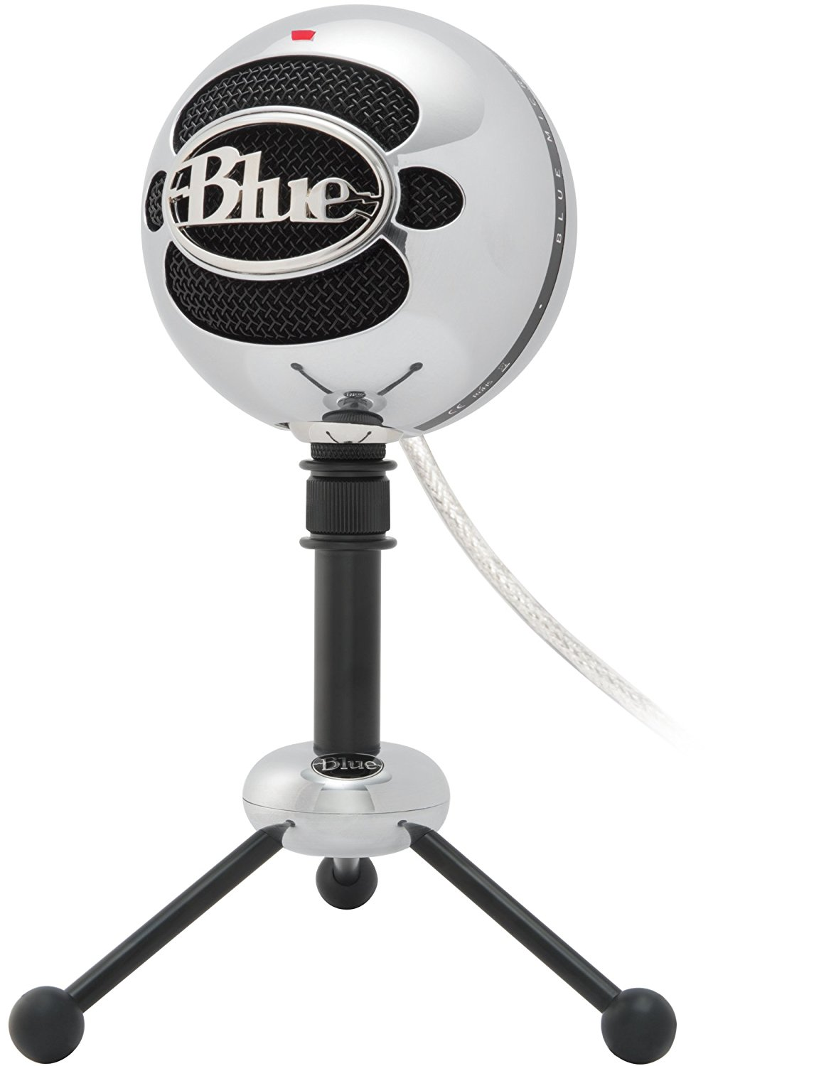 1176x1500 Blue Snowball Usb Microphone (Brushed Aluminum