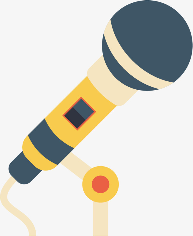 650x795 Cartoon Microphone, Retro Microphone, Icon Icon, Microphone Png