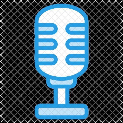512x512 Loud, Mic, Microphone, Audio, Announcement, Radio, Studio Icon
