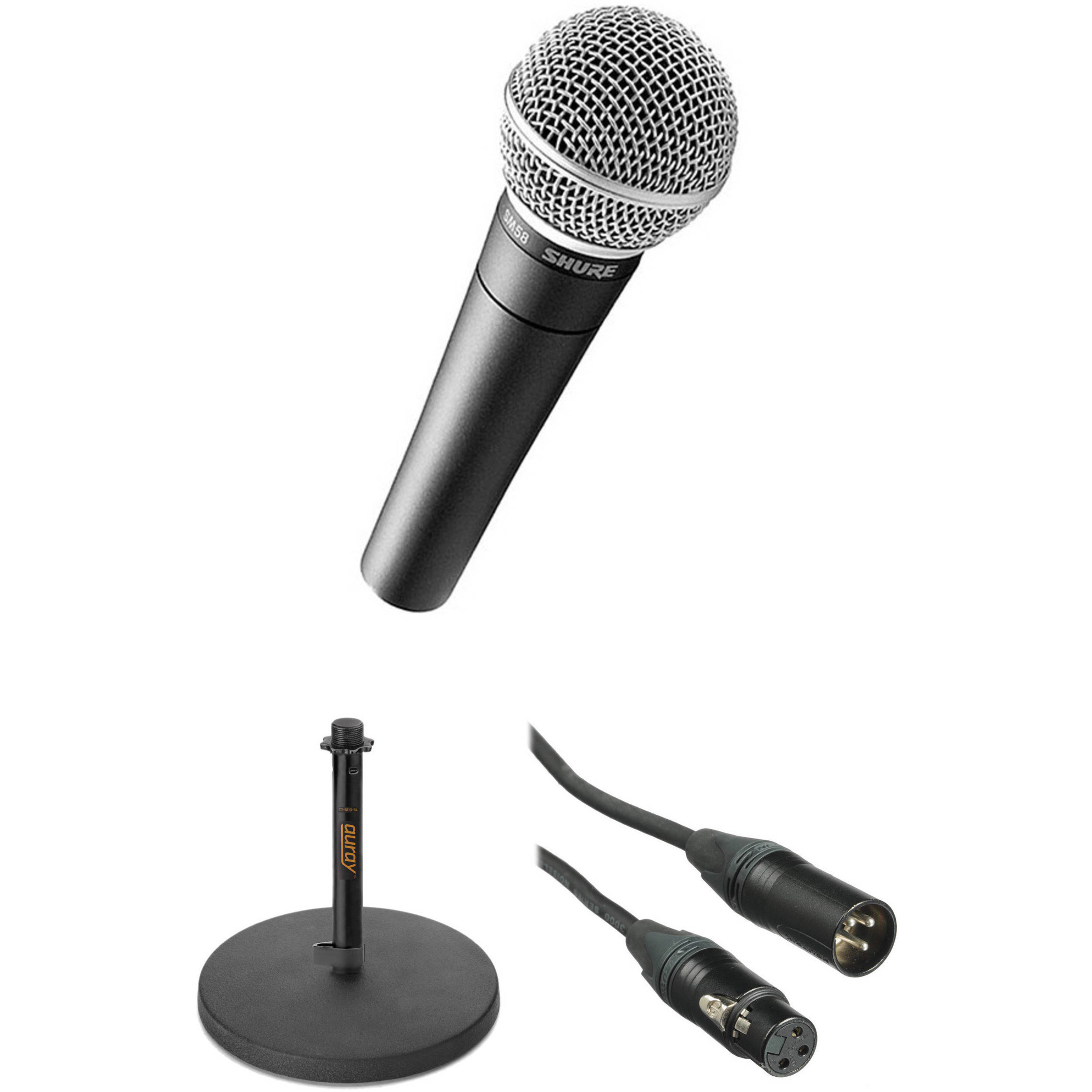 2500x2500 Shure Voice Over Microphone Kit Bamph Photo Video
