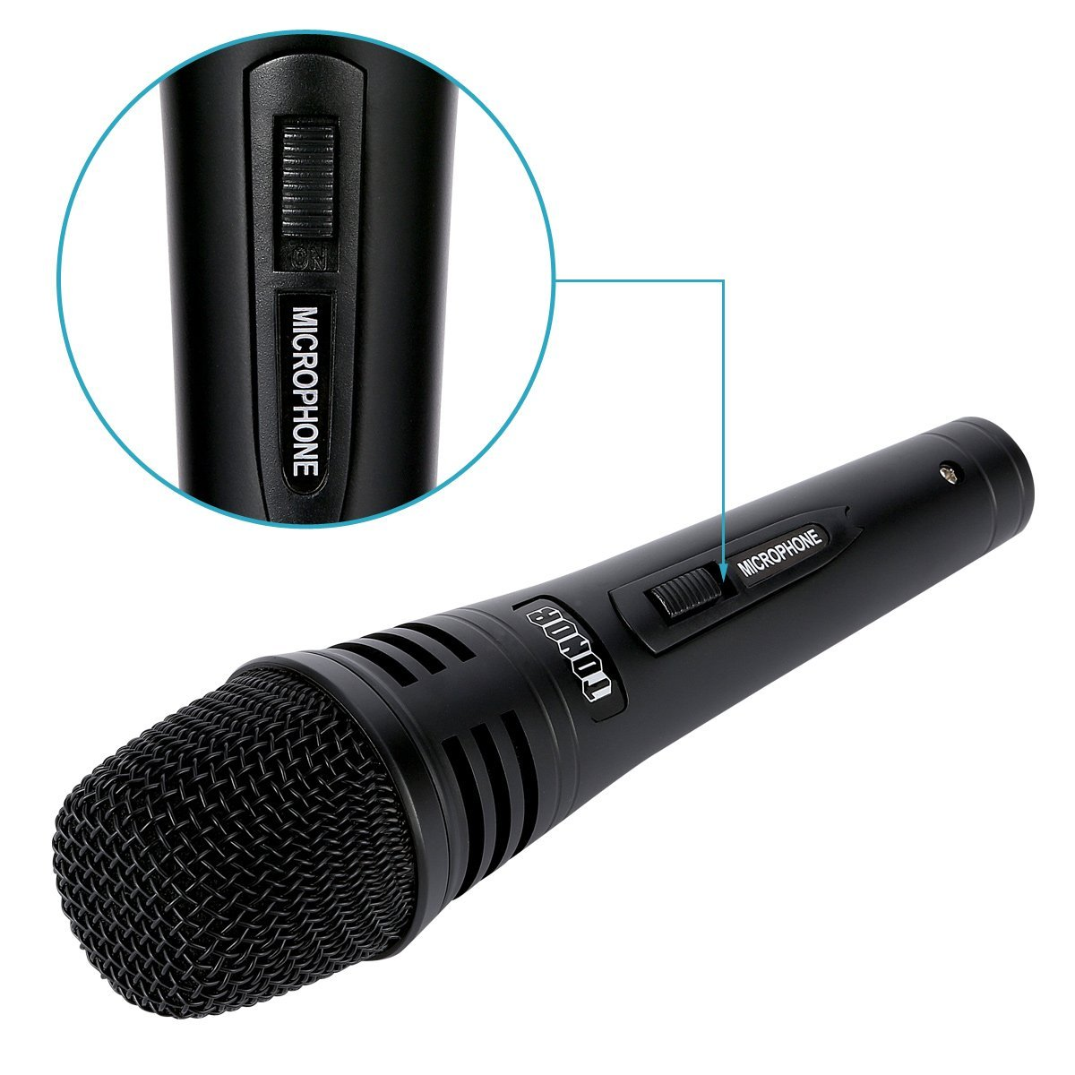 1200x1200 Tonor Pro Vocal Dynamic Microphone With Xlr Cable Male