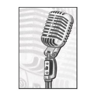 324x324 Microphone Art Amp Framed Artwork Zazzle