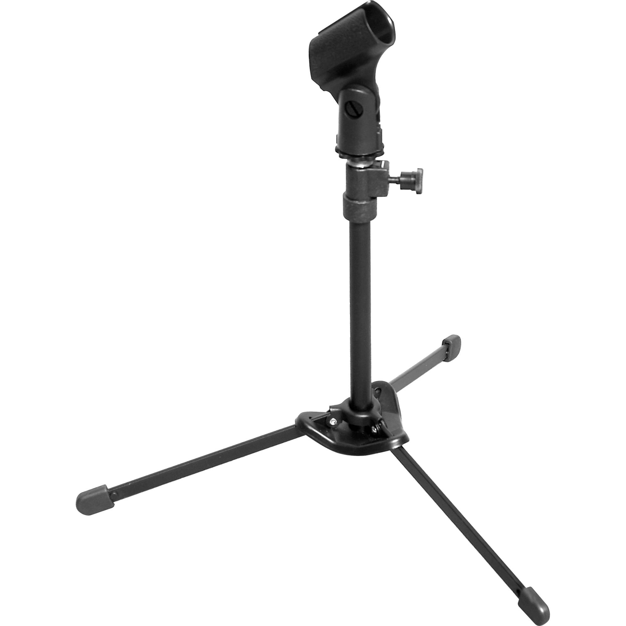 2000x2000 Hamilton Stands Kb810m Nu Era Tabletop Mic Stand With Bag Kb810m