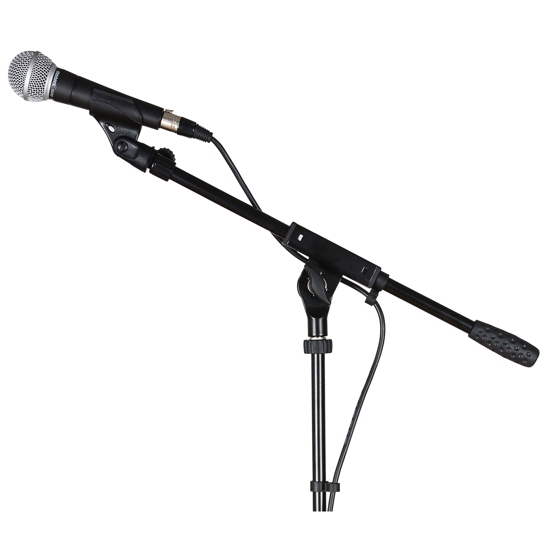 1800x1800 Shure Sm58 Microphone Bundle With Boom Stand And Cable