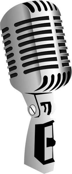 248x600 Microphone Free Vector In Coreldraw Cdr ( Cdr ) Vector