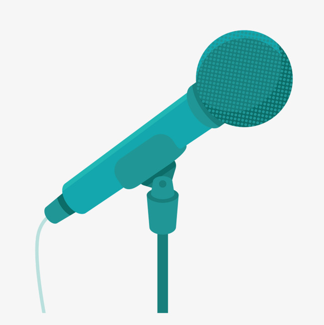 650x651 Vector News Blue Microphone, Vector, News, Blue Png And Vector