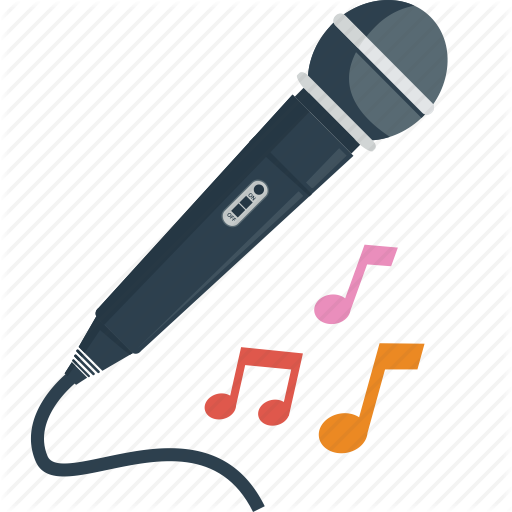 512x512 Audio, Karaoke, Melody, Microphone, Music, Notes, Party, Sing
