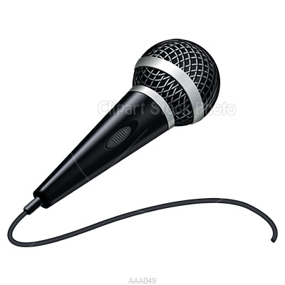 400x400 Microphone With Music Notes Clipart Clipart Microphone Microphone