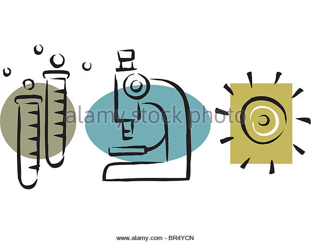 640x500 Drawing Of A Microscope Stock Photos Amp Drawing Of A Microscope