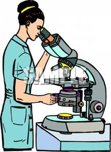 219x300 Lab Tech Adjusting A Microscope