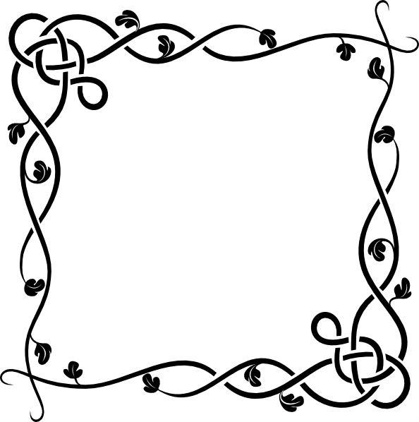 594x598 Microsoft Clip Art Borders