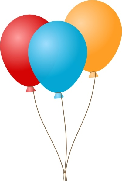 402x595 Free Clipart Balloons