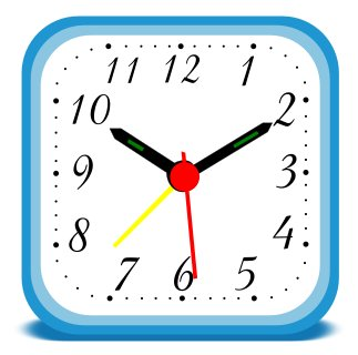 323x320 Microsoft Cliparts Clock