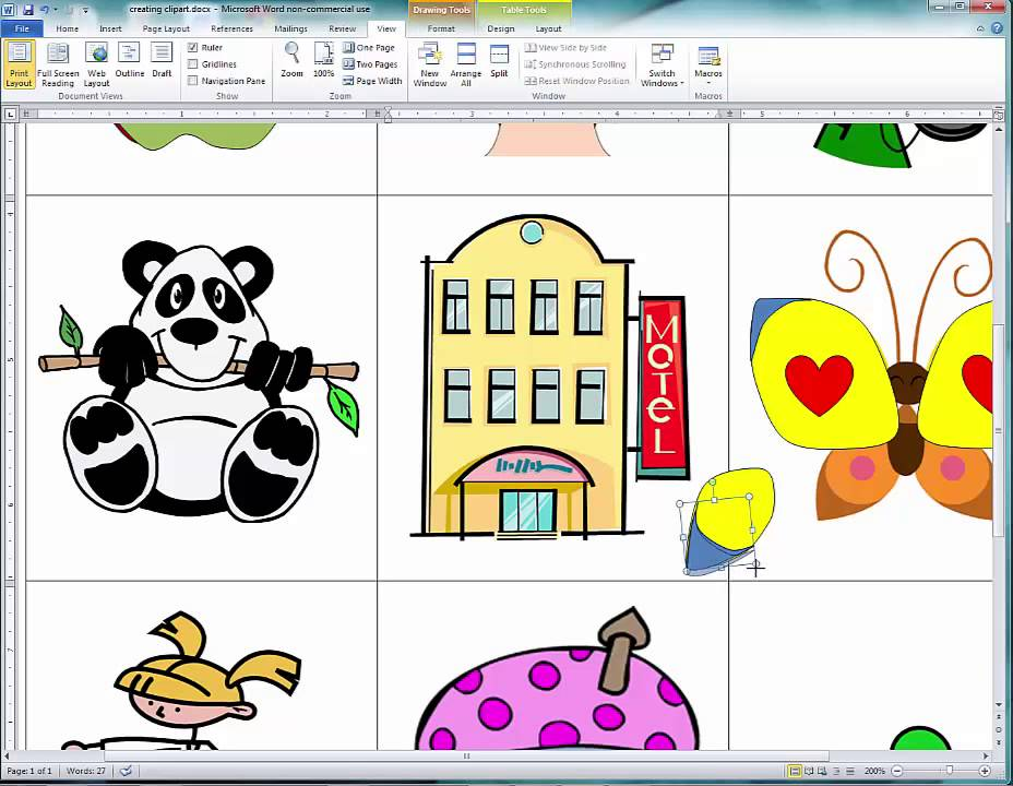 928x720 Creating Clipart