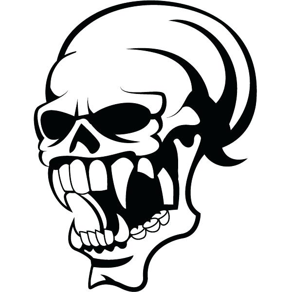600x600 Ms Office Clipart Skull Vector Clip Art Vector Free Download Image