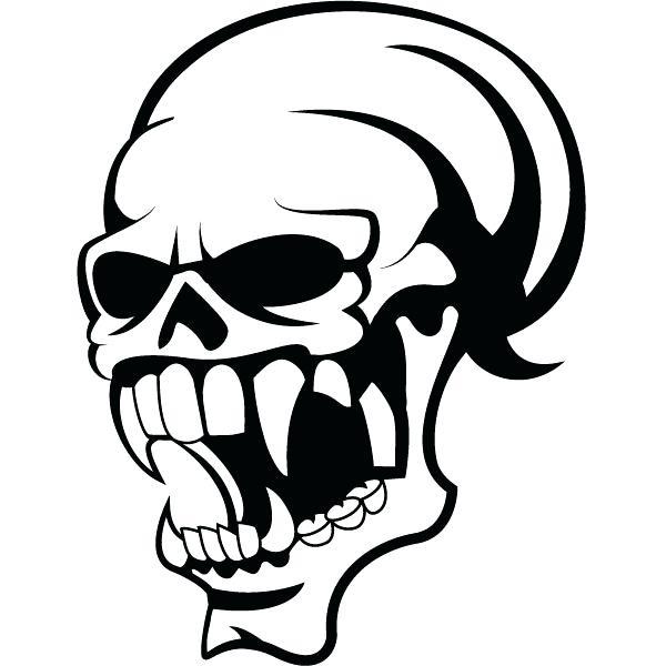 600x600 Ms Office Clipart Skull Vector Clip Art Vector Free Download Image