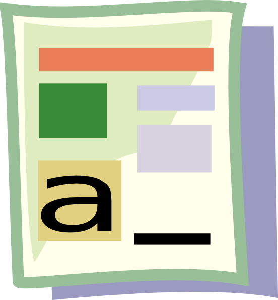 552x595 Microsoft Word Clipart Online