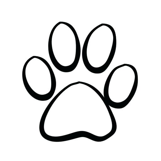 512x512 Ms Office Clipart Prints Clip Art Free Download Tattoo Cat Paw