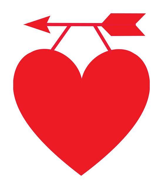 555x640 Free Heart Clipart