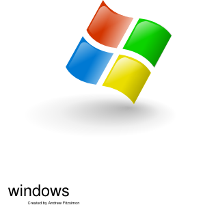 297x300 Microsoft Windows Icon Clip Art