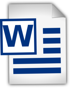 237x297 Microsoft Word Clipart Online