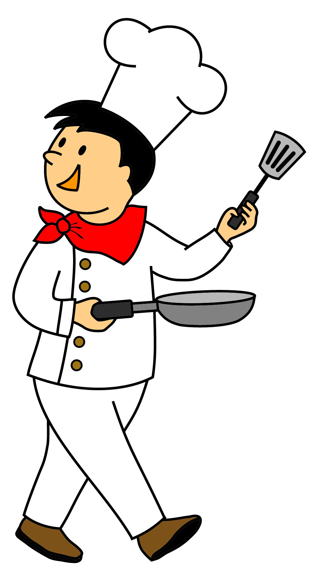 1038x1861 Restaurant Chef Clipart