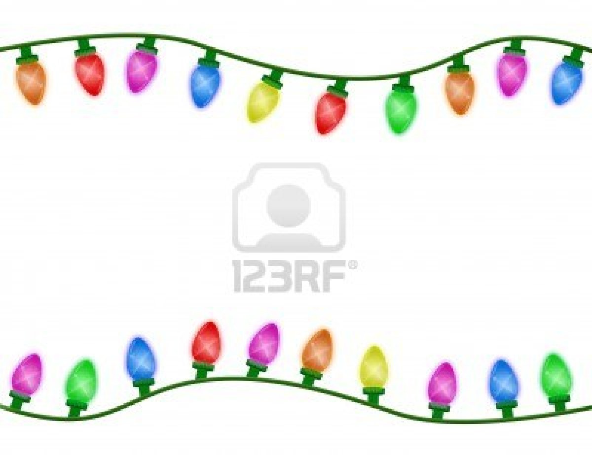 1200x924 Christmas Lights Borders Microsoft Word Halloween Amp Holidays Wizard