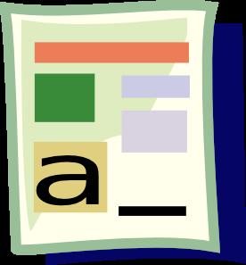 276x297 Microsoft Word Clip Art